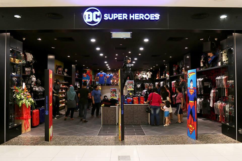 December 12, 2016: DC Super Heroes Store Opens in Sarawak, Borneo ...