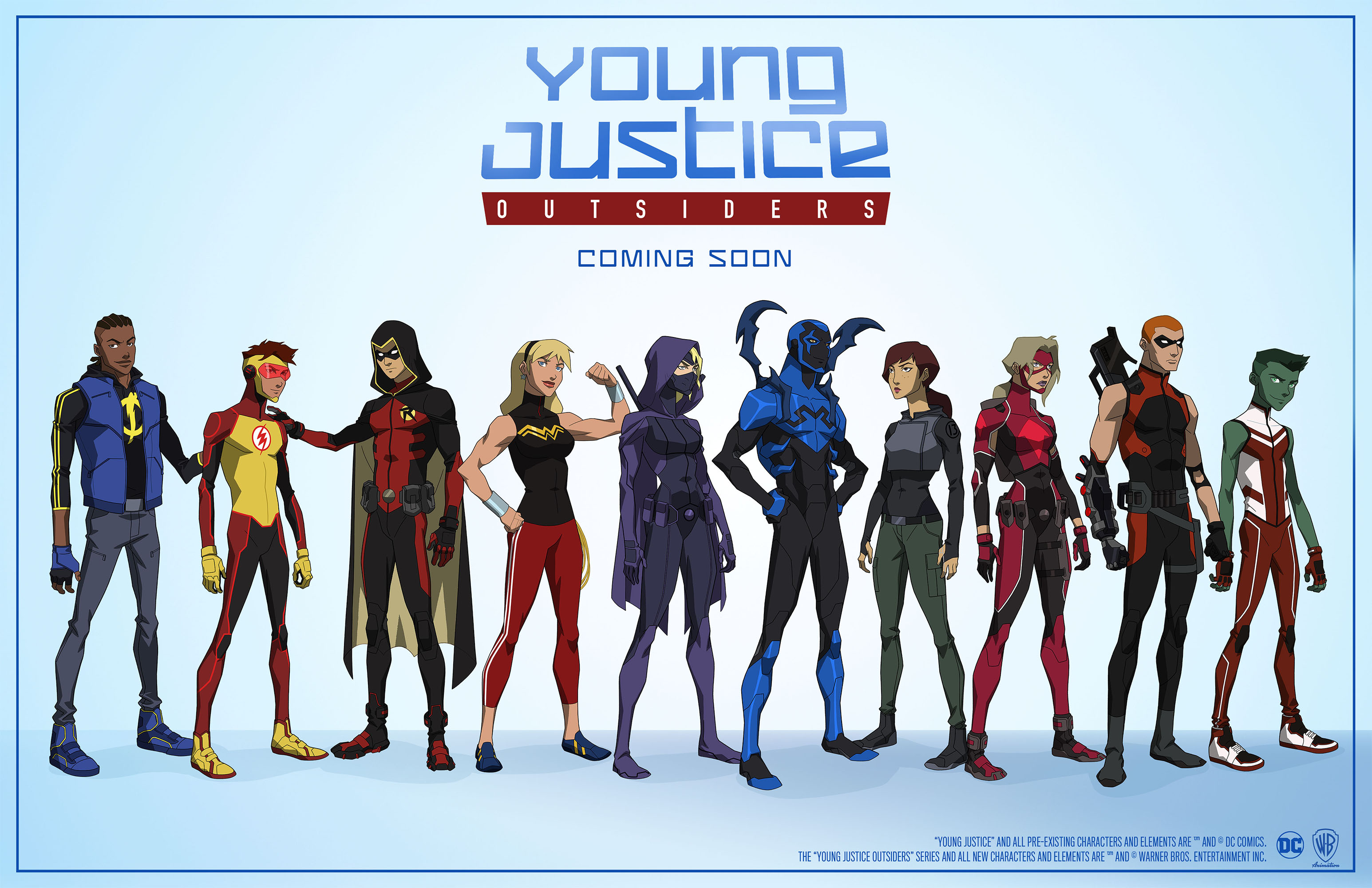 Young Justice: Outsiders reveals new characters, costumes