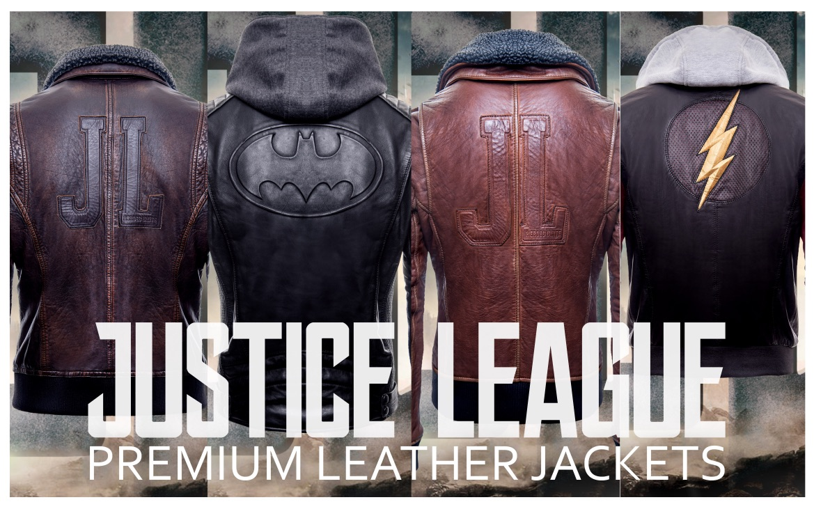 Gotham Outlaw Batman Justice League The Dark Knight Hoodie Leather Men/'s Jacket