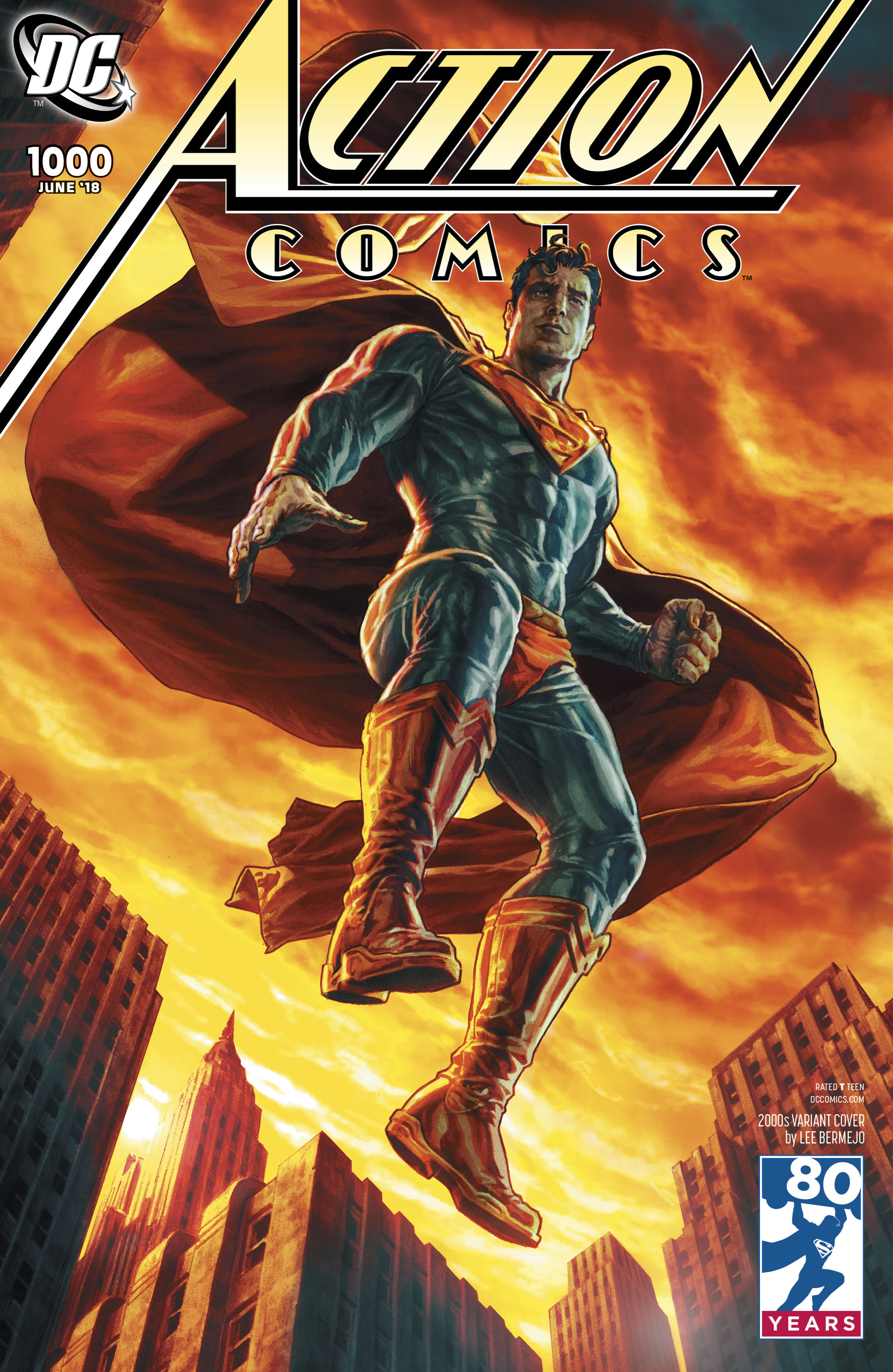 Complete List Of Action Comics 1000 Variant Covers