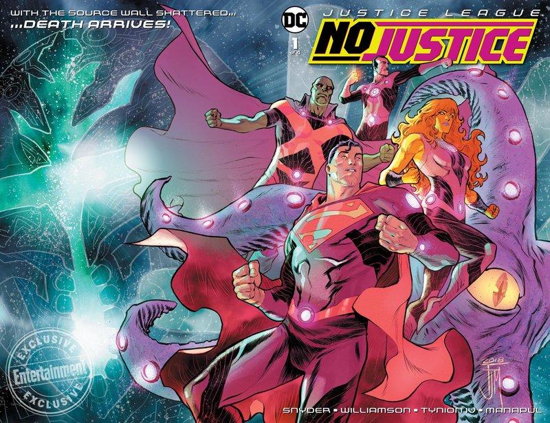 "Creators Discuss ""Justice League No Justice"" – Superman Homepage"