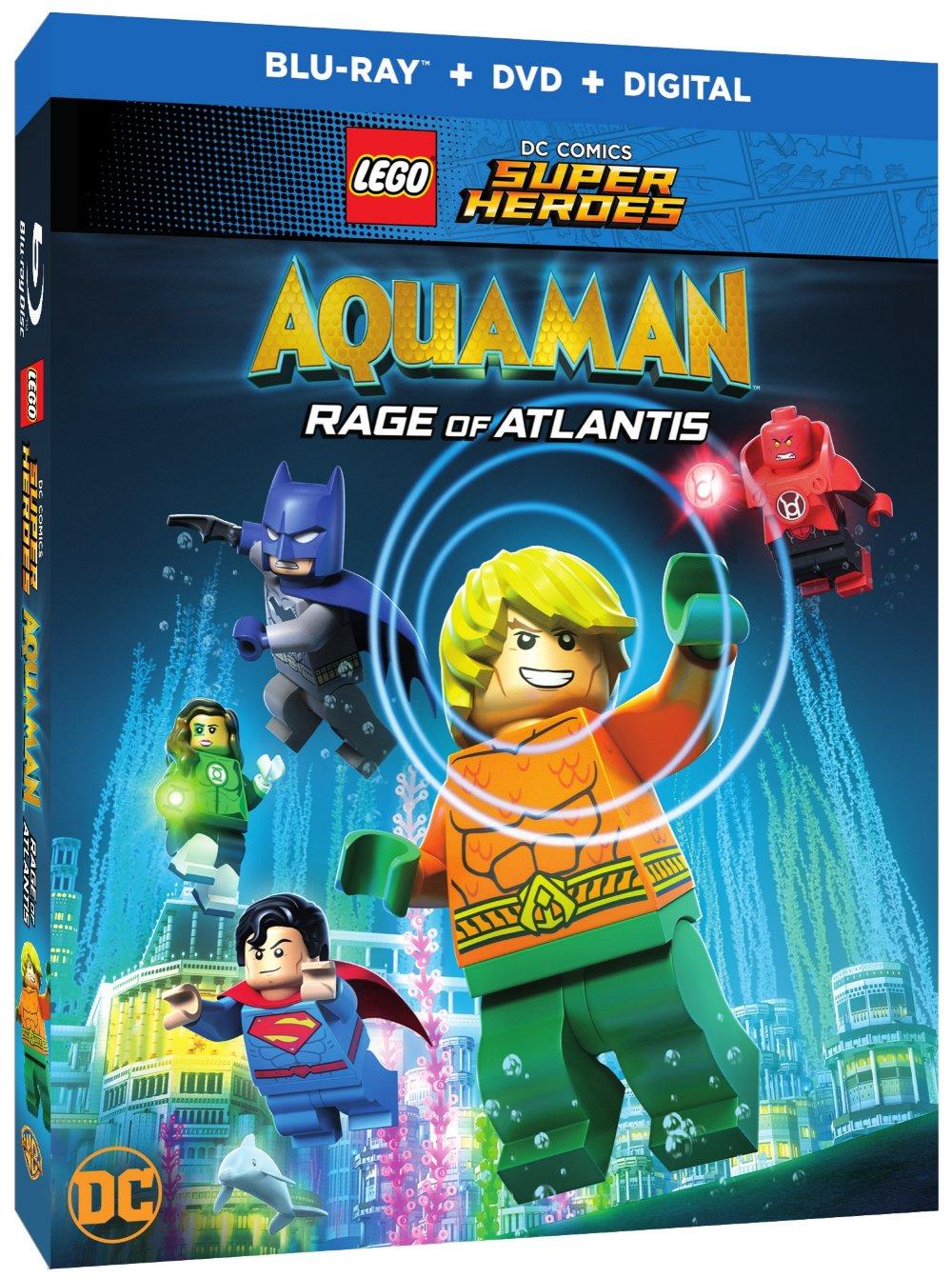 Wbhe Announces Lego Dc Comics Super Heroes Aquaman Rage Of