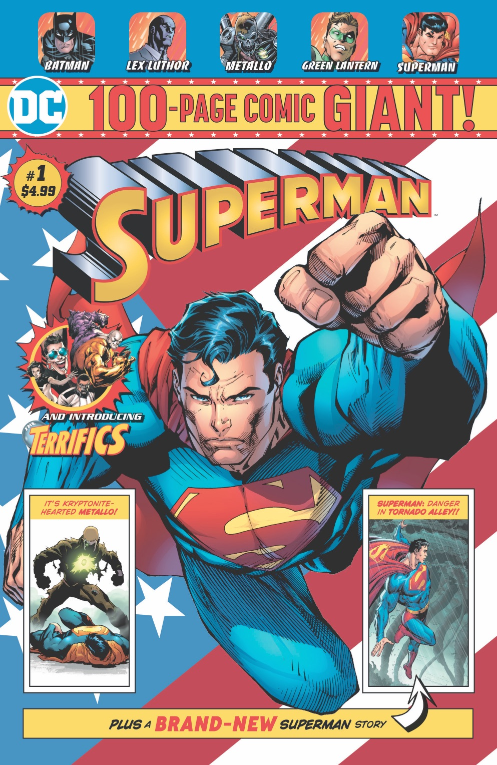 SUPERMAN GIANT #1  sc 1 st  Superman Homepage & 100-Page Giant Comics from DC to be Sold Exclusively at Walmart ...