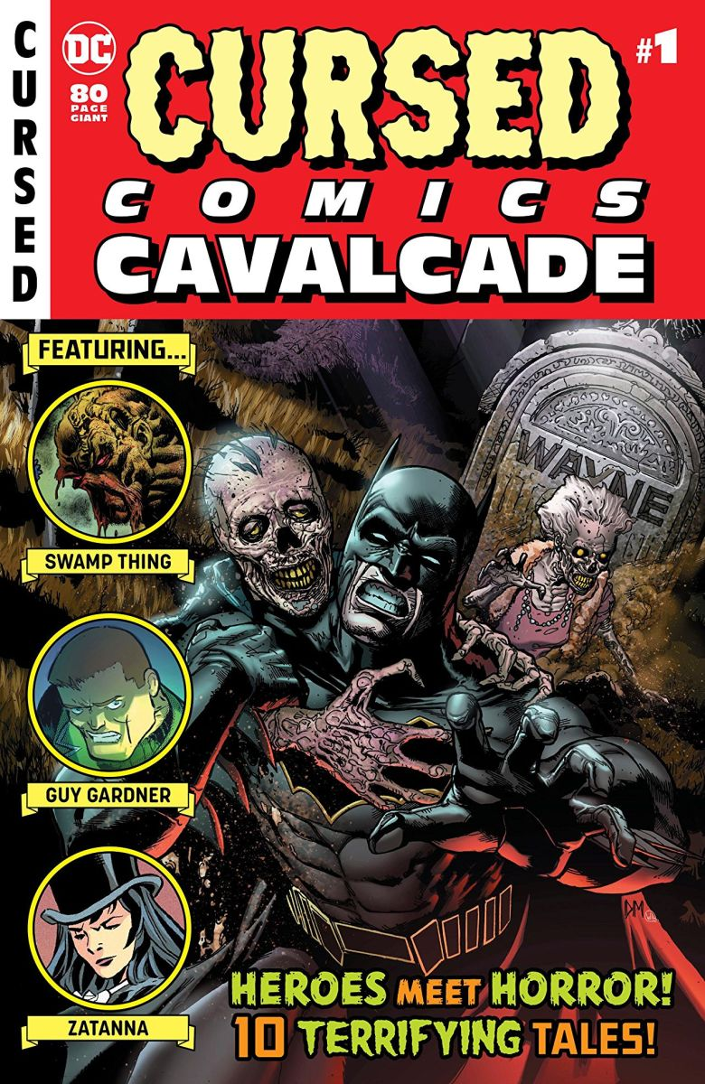 "DC Comics' ""Cursed Comics Cavalcade #1"" Horror Anthology"