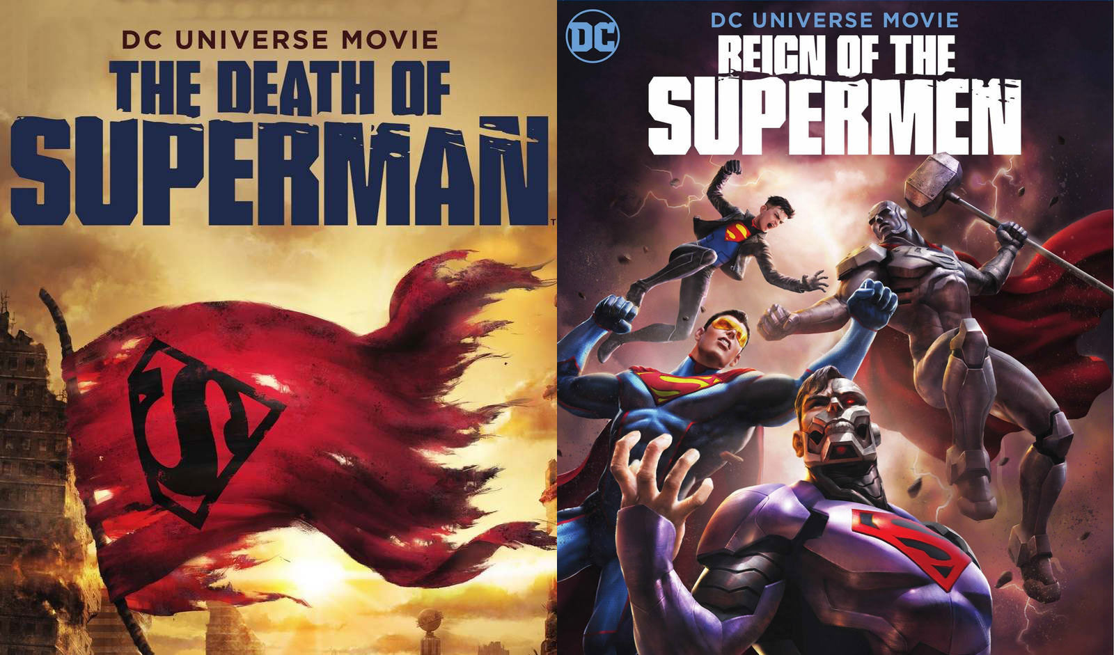 Death Of Superman And Reign Of The Supermen Coming To Theaters Superman Homepage