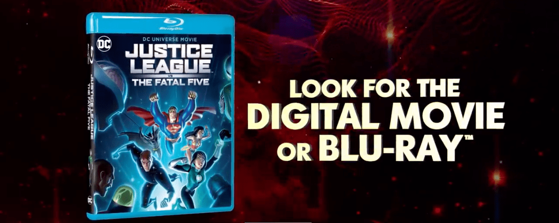 Official Justice League Vs The Fatal Five Animated Movie Trailer Superman Homepage
