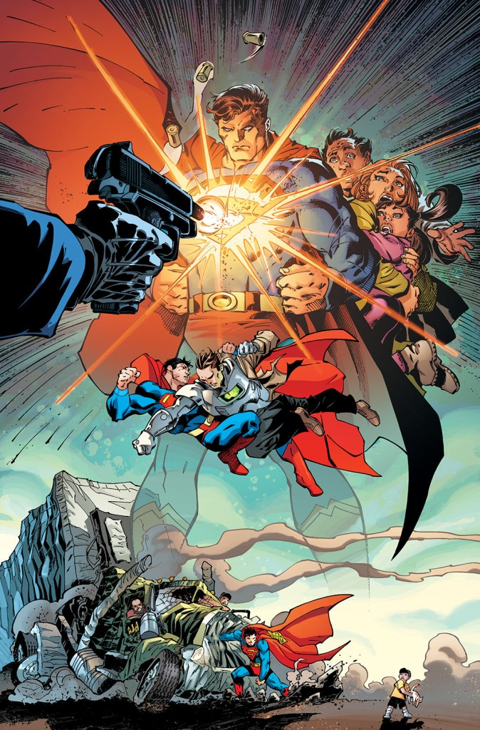 Image result for superman up in the sky #1