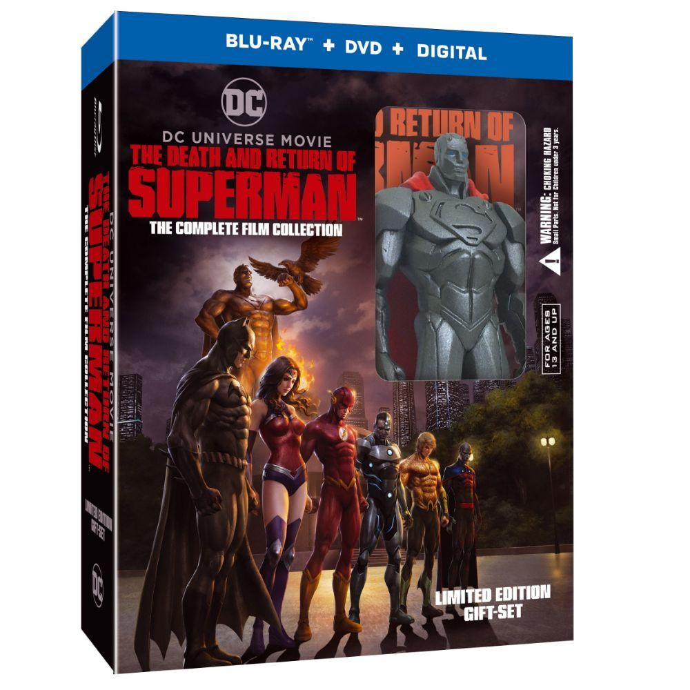 "Pre-Order ""The Death and Return of Superman: The Complete"