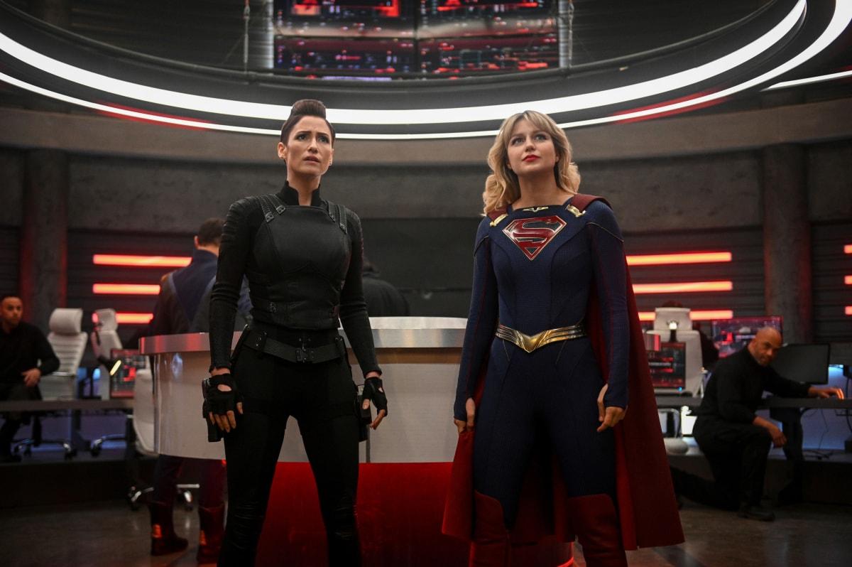 Alex and Supergirl