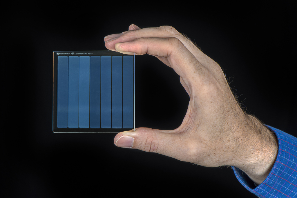 Microsoft develops ultra-durable quartz glass data storage system