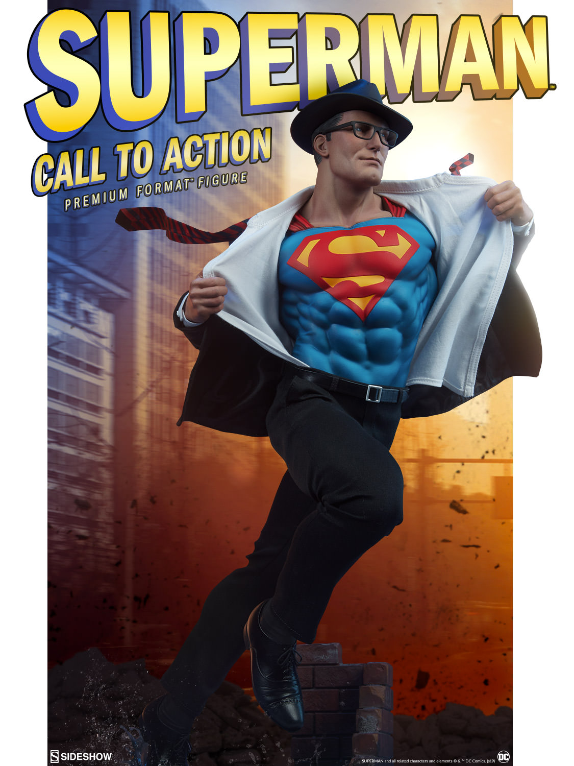 Sideshow Collectibles Announces Superman: Call to Action Premium Format Figure
