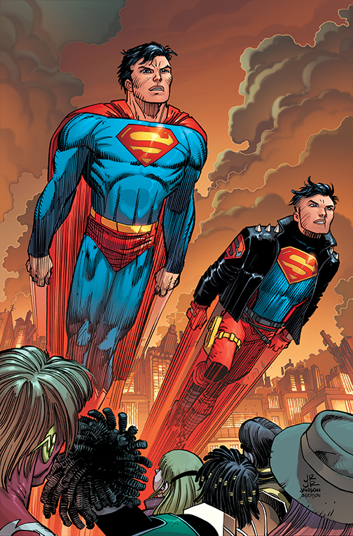 cover A 2020 Superman #22 DC