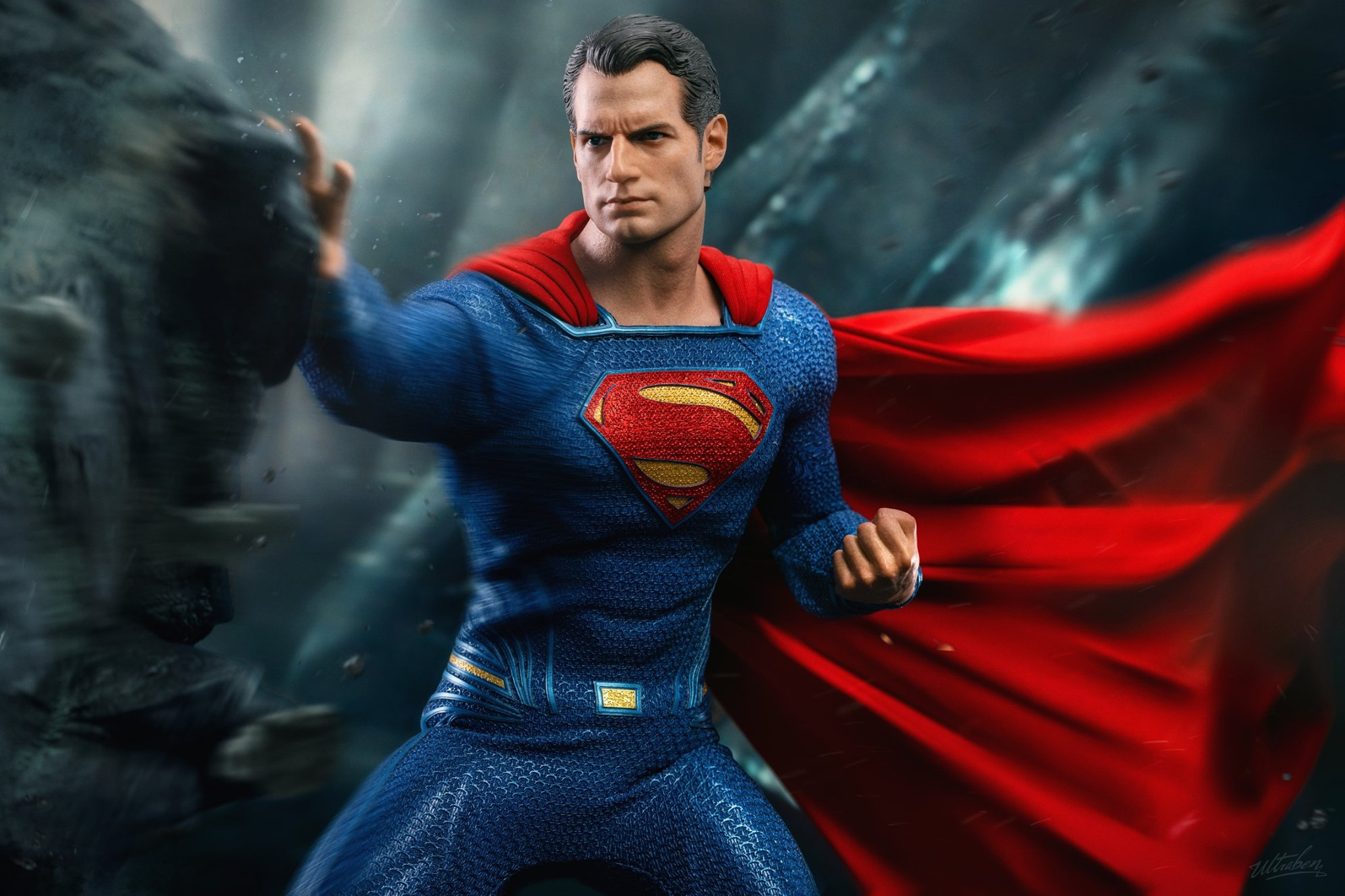 Hot Toys Justice League 1/6th Scale Superman Collectible Figure