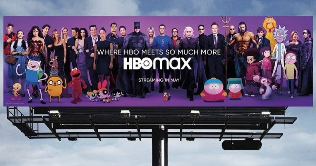 Superman Included on HBO Max Billboard – Superman Homepage