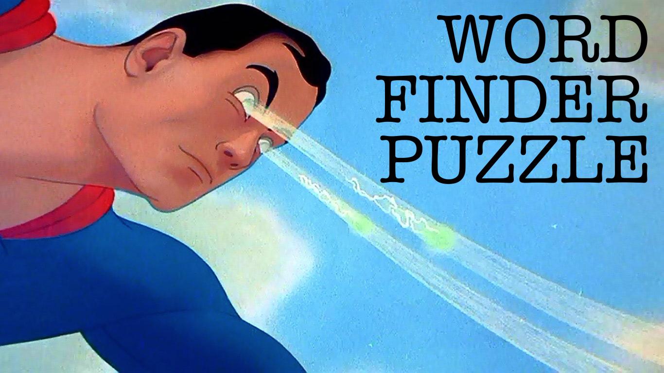 Word Finder Puzzle