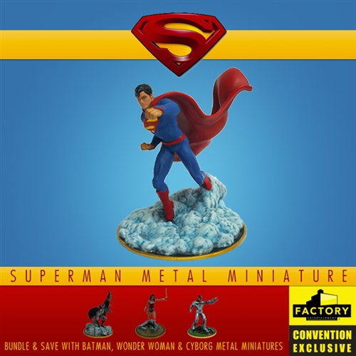 Superman - Metal Miniature