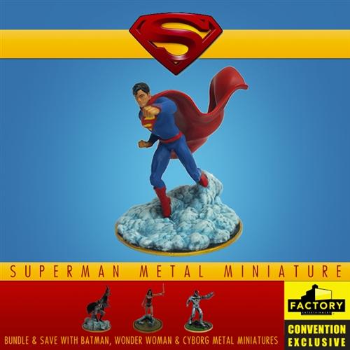 Superman - Metal Miniature