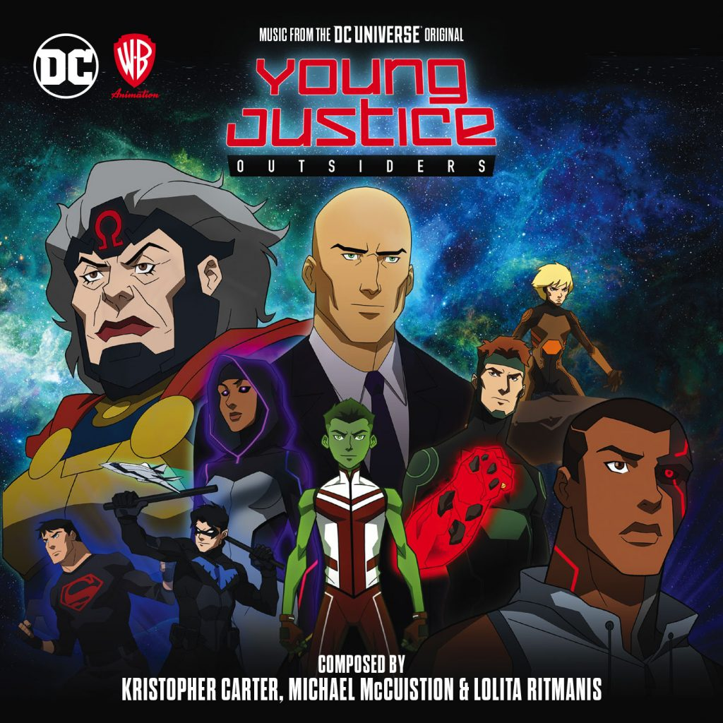 Young Justice - Outsiders: Limited Edition (2-CD Set)