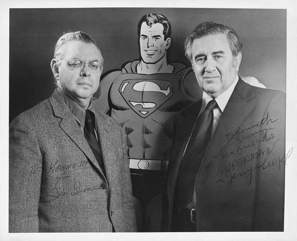 Joe Shuster and Jerry Siegel