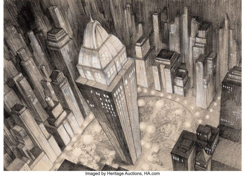 Fleischer Auction6 - El arte original de los dibujos de Superman de los Fleischer a subasta