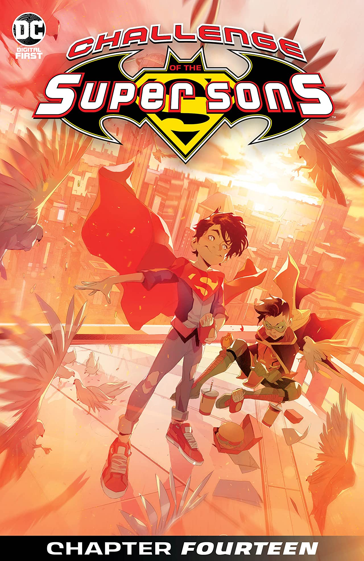 Challenge of the Super Sons #14