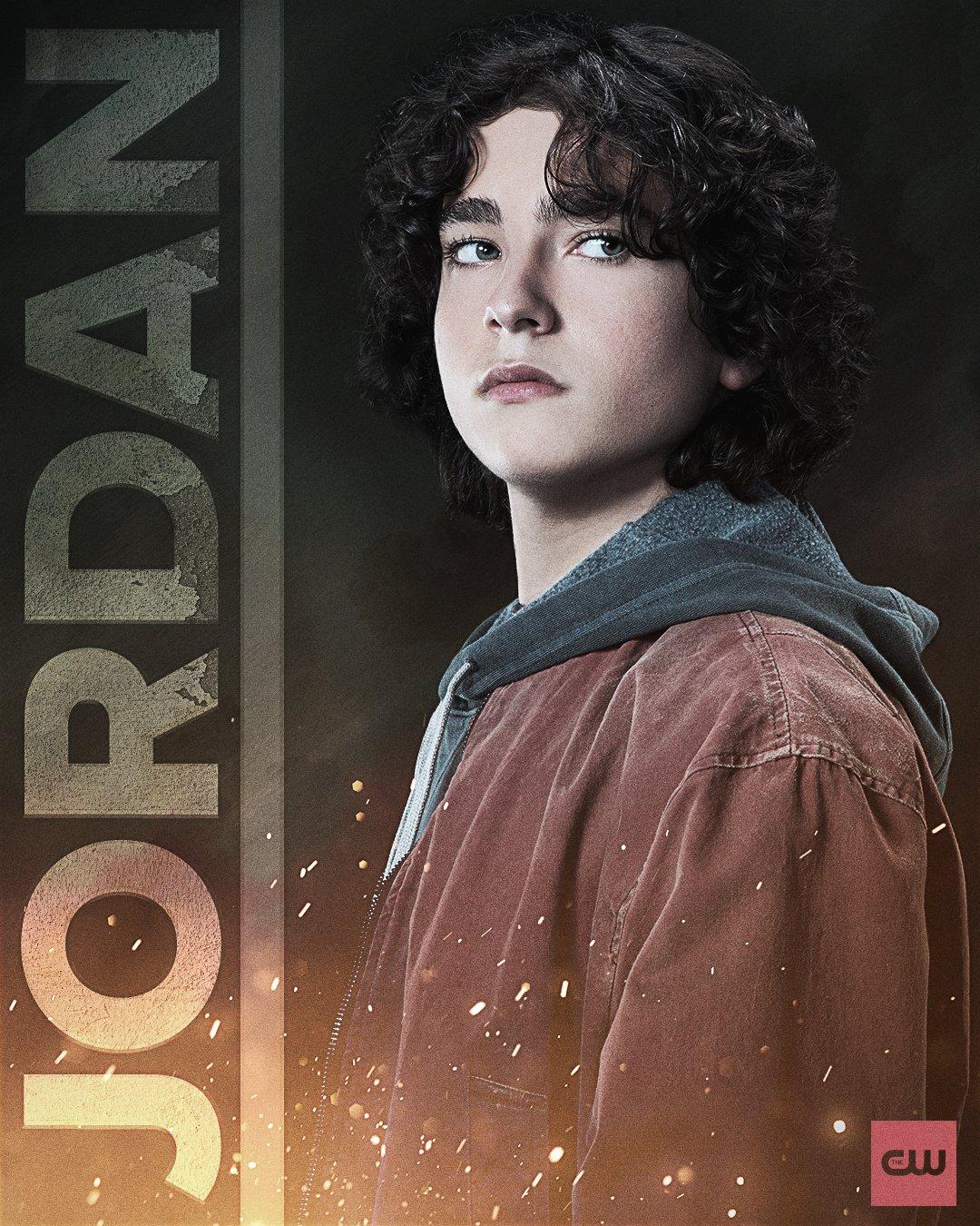 "SandL JordanKent Poster - Nuevos pósters de Jon y Jordan Kent para ""Superman y Lois"""