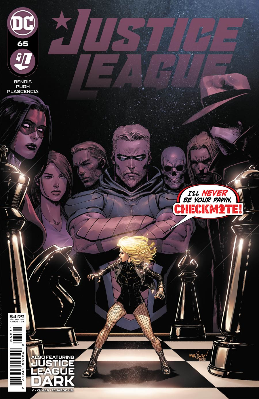 Justice League #65