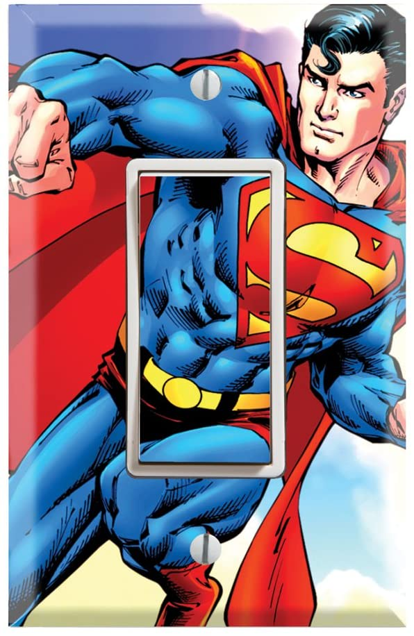 Superman Light Switch Covers