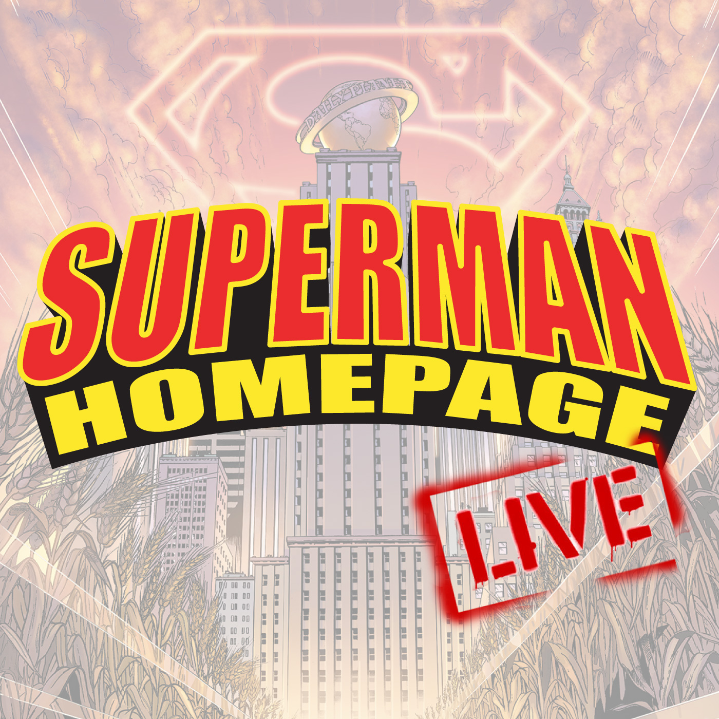 Superman Homepage Live!