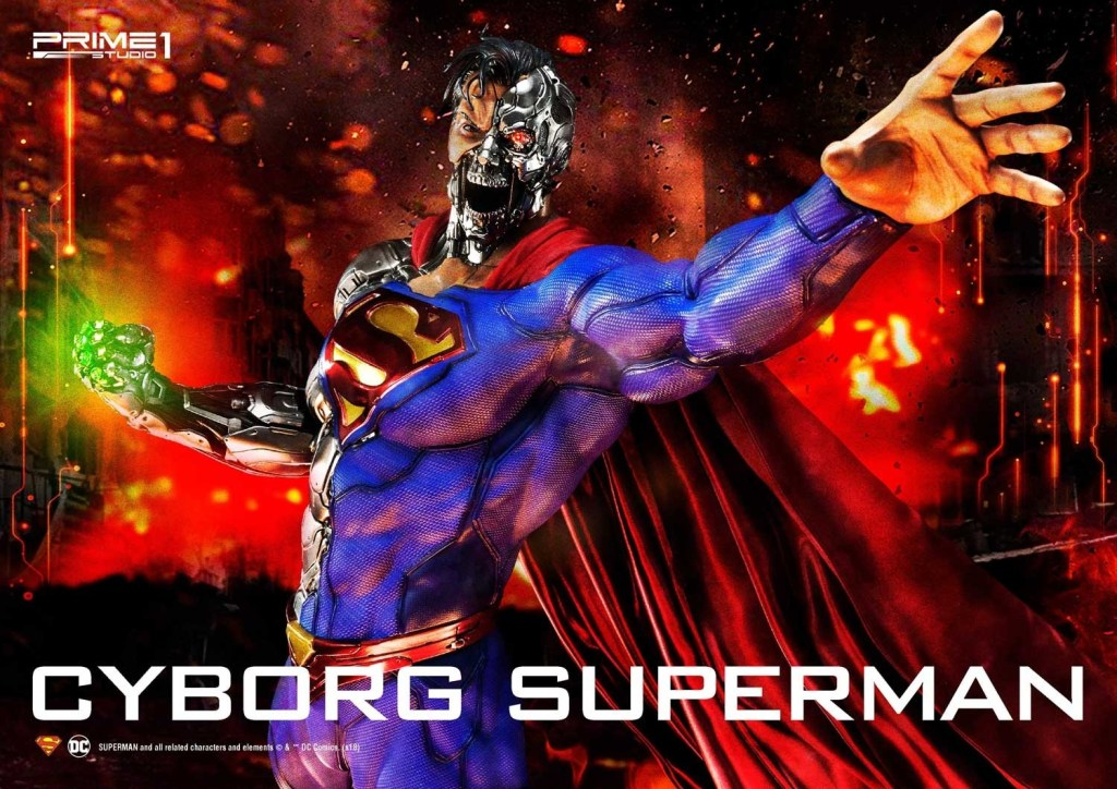Cyborg Superman Statue