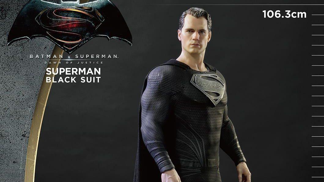 Prime 1 Studio Offers Black Suit Superman Statue – Superman