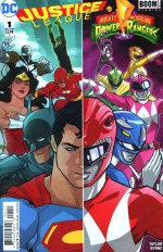 Justice League/Power Rangers #1