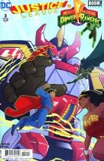 Justice League/Power Rangers #3