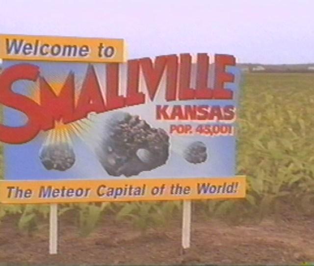 Smallville Sign