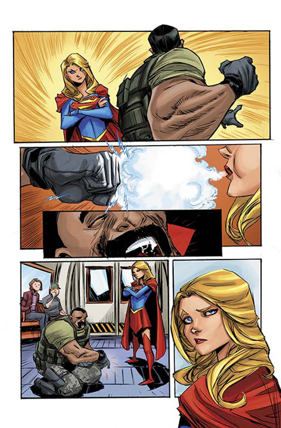 Image result for supergirl #1 rebirth ching cover