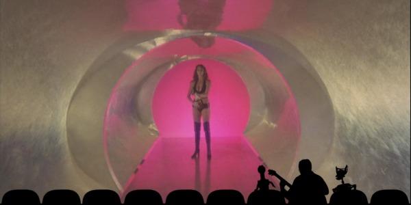 "MST3KEp6StellaSpaceBikini - Mystery Science Theater 3000 The Return (S01E06) ""Starcrash"""