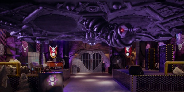 """MST3KEp10MaxandFriend - Mystery Science Theater 3000 The Return (S01E10) """"Wizards of the Lost Kingdom"""""""