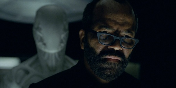 "WestworldS02E01BernardandDrone1 - Westworld (S02E01) ""Journey Into Night"""