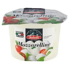 mozzarelline sabelli supermercato melotto online
