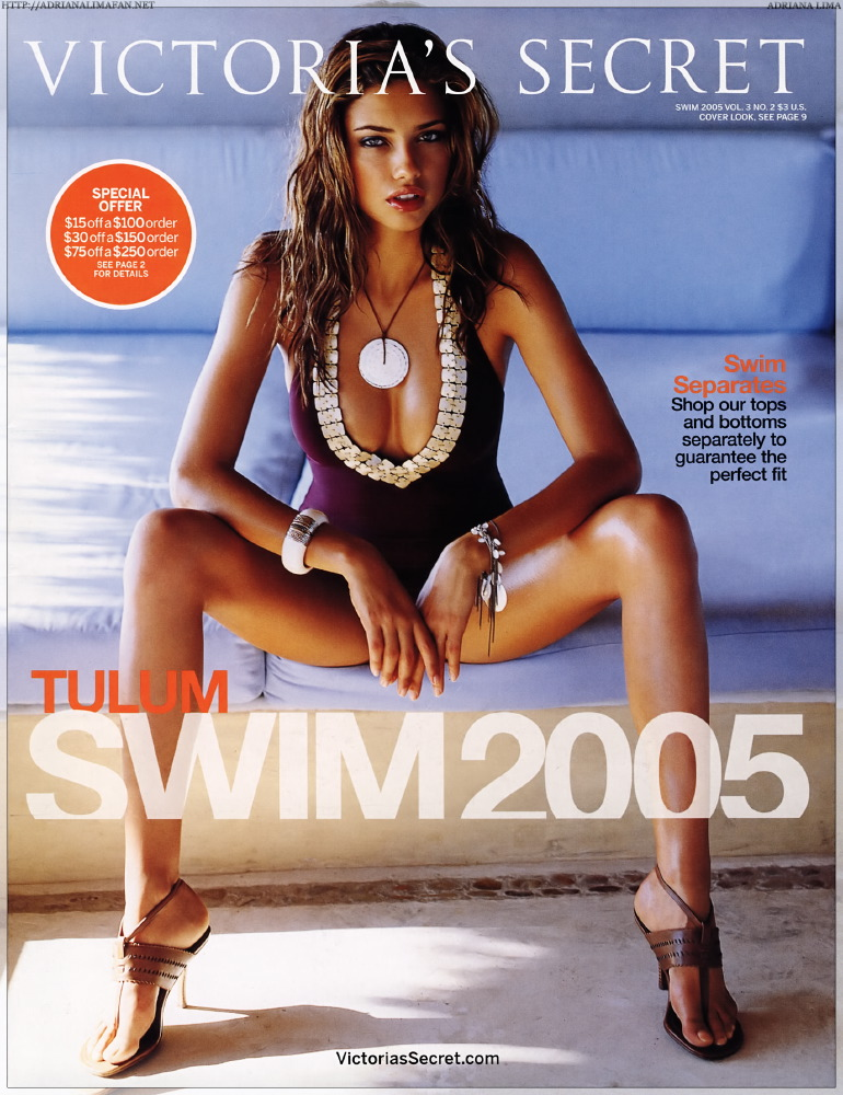 Victoria's Secret 2005 Swim Vol 3 Catalog Scans [x 65]