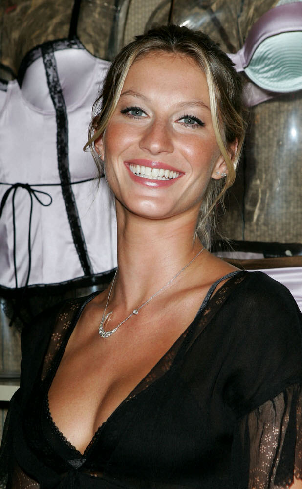Gisele Bundchen Presents the Victoria's Secret Fashion Show Exhibit Ten Years of Sexy – Party [x 60]