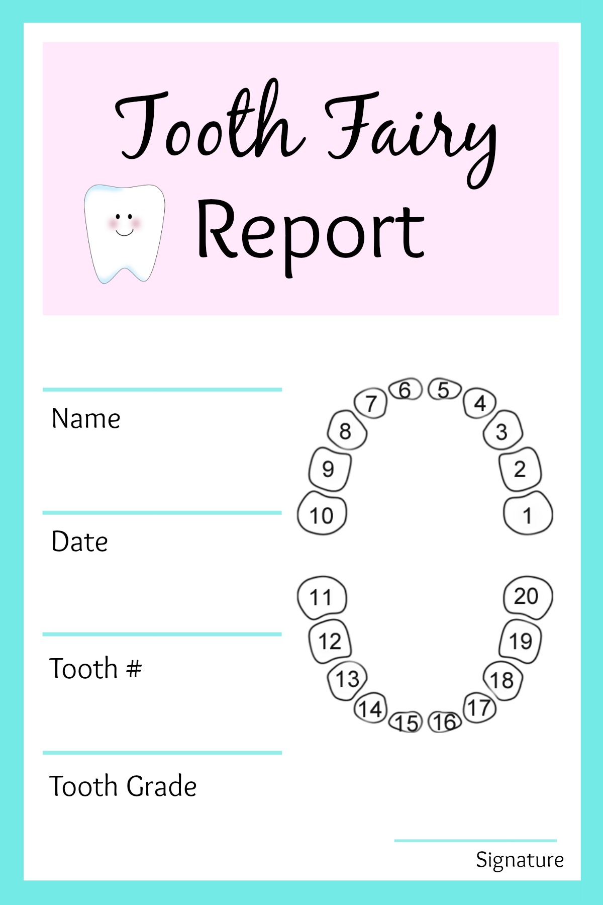 Easy Tooth Fairy Ideas Amp Tips For Parents Free Printables