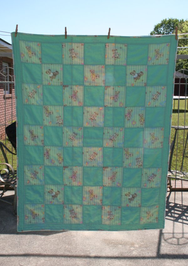 Here is the front of the quilt.