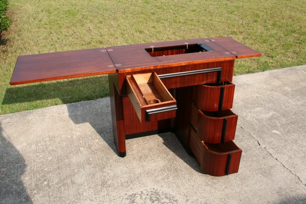 Singer Art Deco Cabinet #2