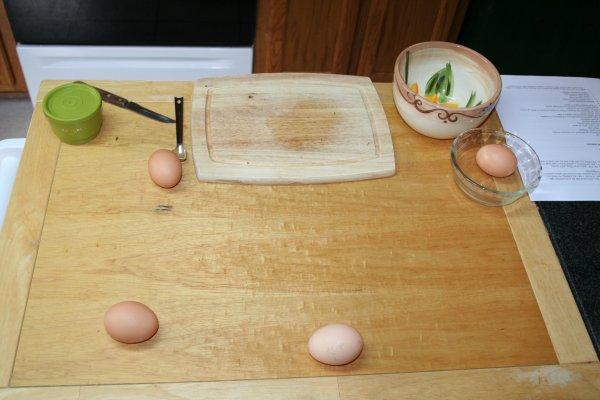Separate 4 eggs