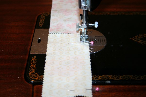 Sew pairs together using strip piecing