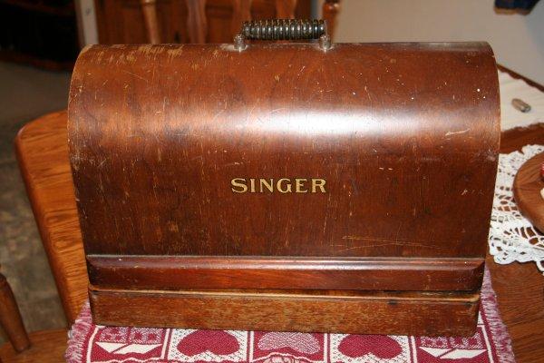 Singer Bentwood Case