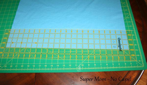 31 - Cut 4 four inch strips