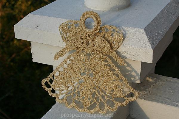Wheat and gold metallic angel (2)