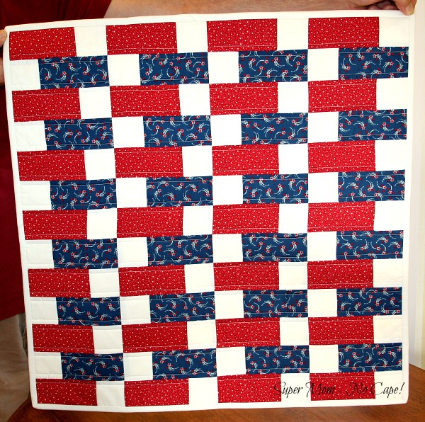 Old Glory Scrambled Tabletopper 2